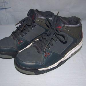 8c639acba00 Jordan Flight Origin Basketball Shoes Gray Size 8
